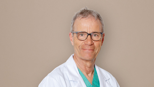 Dr. med. Christoph Lauber, Anaesthesiologist (FMH)